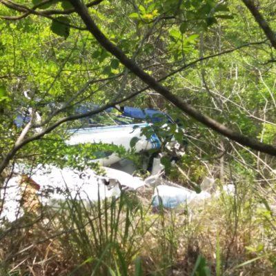 ACCIDENTE AÉREO EN MAHAHUAL: Mueren dos personas por desplome de avioneta a 500 metros de despegar