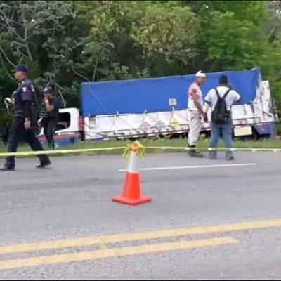 Accidente vial en Bacalar deja un muerto y cuatro heridos