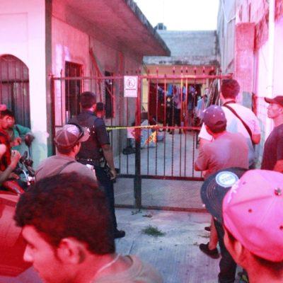 Hombre es herido de bala en el pie en Playa del Carmen