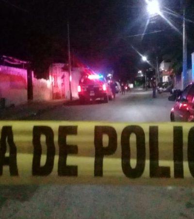 Balean a supuesto narcomenudista en la Región 75 de Cancún