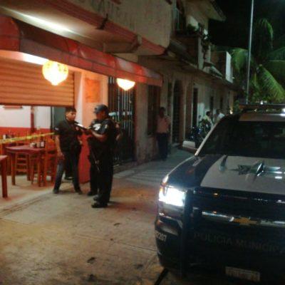 Dos personas heridas de bala en dos puntos de Playa del Carmen