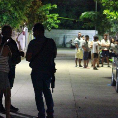 Balean a dos personas por un pistolero que llegó y huyó en un mototaxi en Playa del Carmen