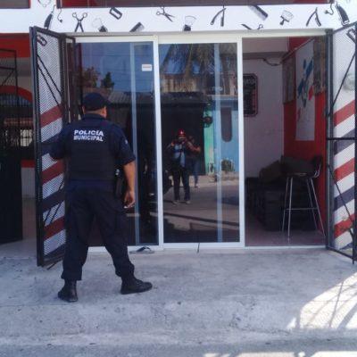 Reportan plagio de un barbero en la Región 220 de Cancún