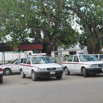 Rompen acuerdos taxistas de Chiquilá y Kantunilkín