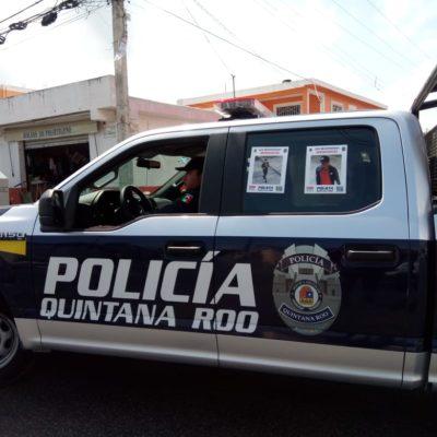 Ponen fotos de ladrones buscados en patrullas de Cancún