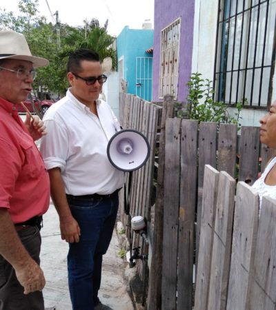 "Exige 'Chacho' al Gobernador que remueva a Capella; ""no sirve"", asegura"