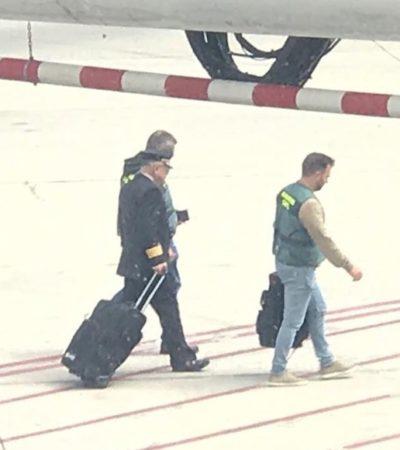 Abandona piloto de Aeroméxico vuelo en Madrid por complicaciones médicas; pudo estar ebrio, según pasajeros