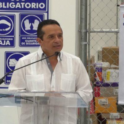 Ante afectaciones del sargazo, responde Carlos Joaquín que municipios pueden hacer uso de impuestos para atender el problema del alga