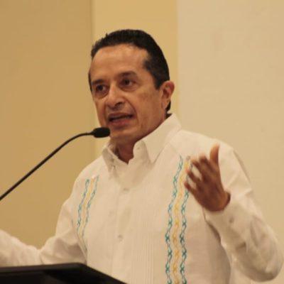 Pide Carlos Joaquín a ciudadanos y empresarios que se sumen al Mando Único para reducir índices delictivos en QR