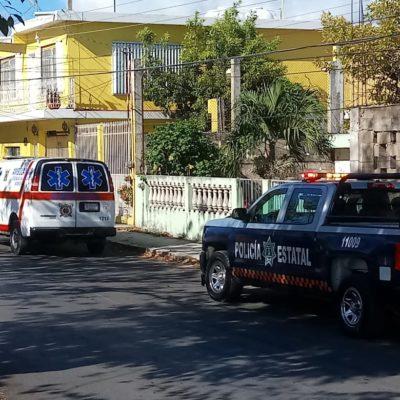 Niña resulta lesionada tras choque de dos taxis en Chetumal