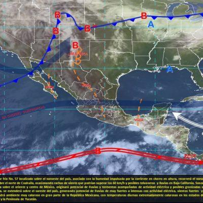 PRONÓSTICO DEL CLIMA: Viernes con mucho calor y probabilidad de lluvias por la tarde
