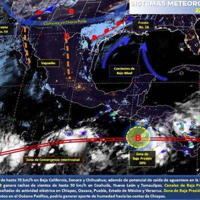 PRONÓSTICO DEL CLIMA: Persisten altas temperaturas de entre 35 y 40 grados en Quintana Roo