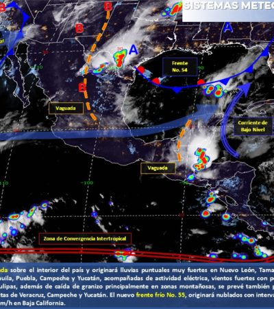PRONÓSTICO DEL CLIMA: Mañana calurosa y lluvias aisladas por la tarde