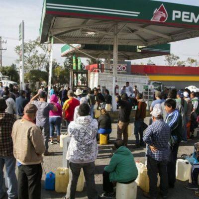 Ocultó AMLO información sobre mínimas reservas de gasolina durante crisis de desabasto