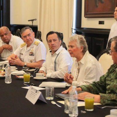 Revela Sánchez Cordero que Gobierno federal y FGR analizan ya la crispación política en Veracruz