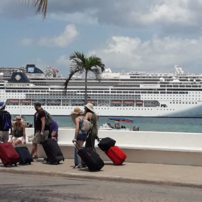 Coparmex fomenta compras de productos mexicanos en Cruceros que arriban a Cozumel