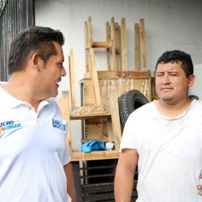 Vecinos del Distrito Cinco respaldan a Eduardo Pacho