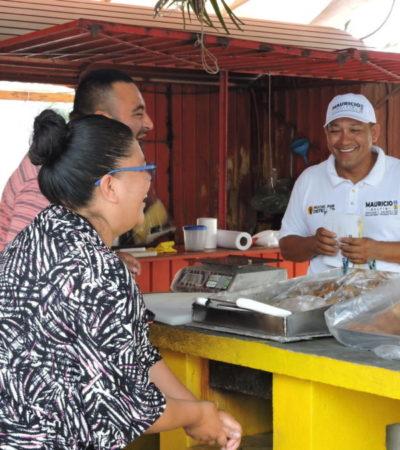 Gestionará Mauricio Delfín seguridad para las microempresas de QR