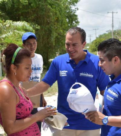 Carlos Orvañanos propone sustituir camiones del transporte público en Cancún por unidades menos contaminantes y de mayor calidad