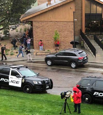 Tiroteo en escuela de Colorado, EU, deja a siete estudiantes heridos