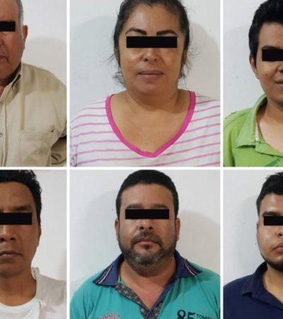 Detienen en Chiapas a seis implicados en doble homicidio perpetrado en Chiapa de Corzo