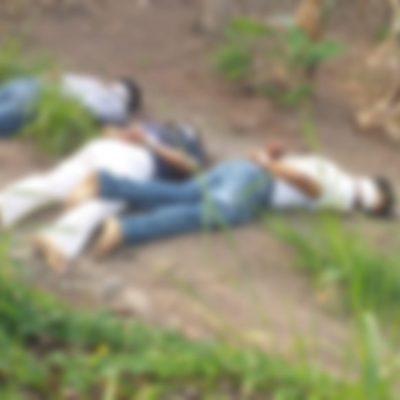 Encuentran cuerpos de cuatro jóvenes ejecutados en Uxpanapa, Veracruz