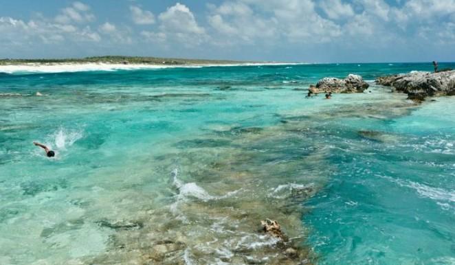 """Conanp asegura que es falso que el acceso a la playa """"El Cielo"""" en Cozumel se haya restringido; aunque no descarta la posibilidad de cerrar otras áreas"""