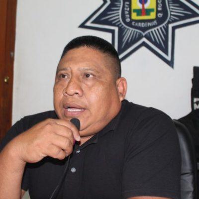 Anuncia subdirector de la Policía Municipal que elementos de Lázaro Cárdenas serán acuartelados para el proceso electoral