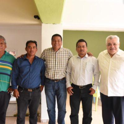 Después de sus diferencias, Fernando Zelaya y Manuel Valencia aparecen juntos, en su intento por llegar nuevamente al Congreso del Estado