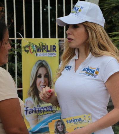 Habitantes de 'La Unión' respaldan candidatura de Fátima Garnica