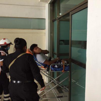 Herido de bala en la SM 75 de Cancún