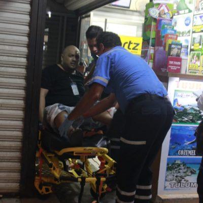 Ejecutan a vendedor de tours en la Quinta Avenida de Playa del Carmen