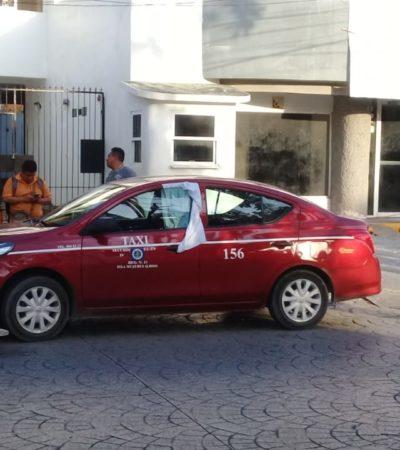Taxista de Isla Mujeres recibe un balazo y llega conduciendo a la Cruz Roja de Cancún para pedir ayuda