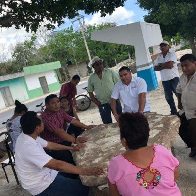 Se compromete Ismael Sauceda con el impulso al campo y a los artesanos de la Zona Maya y de Transición en Tulum