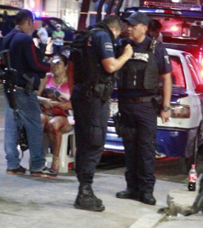 Tres heridos de bala en bar de Playa del Carmen