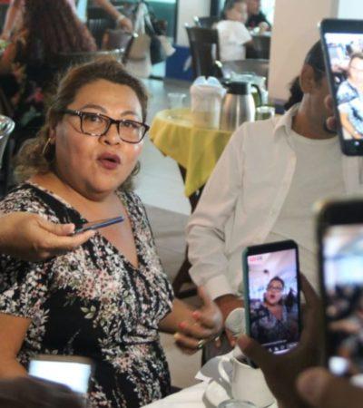 Pide Lilia Pérez a la FGE 'liberar' el centro nocturno 'Dassam' en la zona hotelera de Cancún