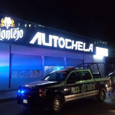 Se llevan botín de 400 pesos en robo violento en negocio de venta de cerveza en Chetumal
