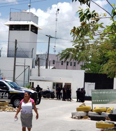 NUEVA RIÑA EN LA CÁRCEL DE CANCÚN: Desalojan a más de 300 personas en el domingo de visita a reos