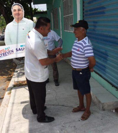 """""""Sí a la autonomía municipal, pero también a que regrese la paz a Solidaridad con el Mando Único"""", dice Ismael Sauceda"""