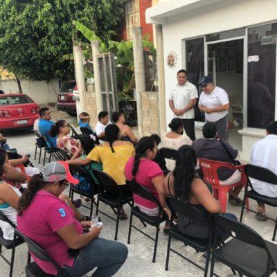 Ismael Sauceda se compromete a impulsar que Puerto Aventuras se convierta en alcaldía