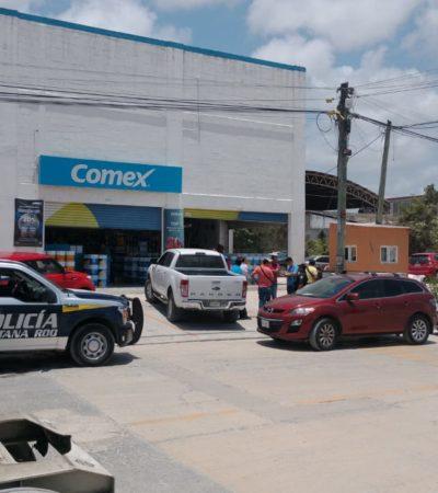 DESPOJAN A UNA MUJER DE 200 MIL PESOS: Asalto frente a negocio en la Región 97 de Cancún
