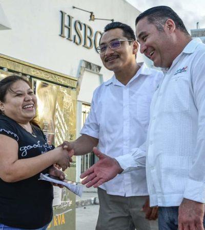 MAS, único partido ciudadano contra los corruptos, dice Ismael Sauceda