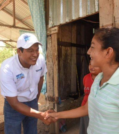 NUESTRA CAUSA ES CHETUMAL: Fernando Zelaya invita a ciudadanos a unirse su proyecto para alcanzar la mayoría de votos el próximo 2 de junio