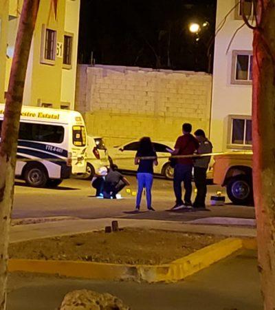INTENTO DE EJECUCIÓN EN LA REGIÓN 110: Una persona herida tras disparos en el fraccionamiento Paseo Kusamil de Cancún