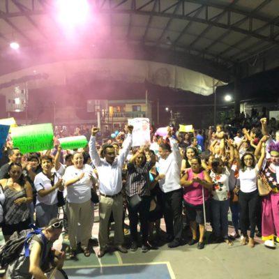 La gente no se equivoca y Tulum y Playa del Carmen ya decidieron por Ismael Sauceda y Ernesto Cuxim, aseguran candidatos en cierre de campaña