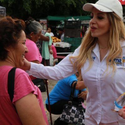 Ofrece Fátima Garnica impulsar desde el Congreso en proyectos de ley para crecer de manera ordenada y sustentable