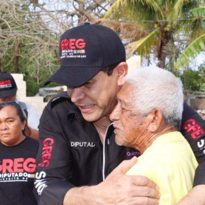 """""""Voy a legislar por la gente de la tercera edad porque son un sector olvidado"""", asegura Greg Sánchez"""