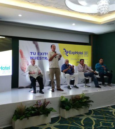 Más de 500 empresas participarán en conferencias, talleres, catas de vino y una muestra gastronómica internacional en la ExpHotel Cancún