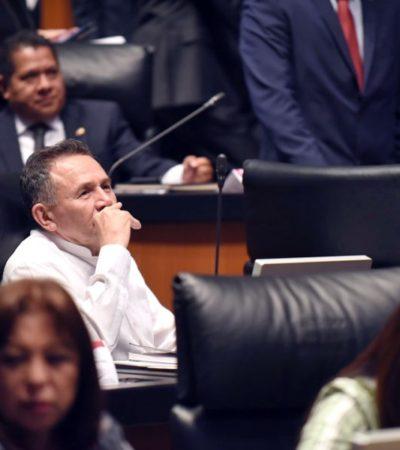 José Luis Pech presenta un Punto de Acuerdo en el Senado para que exhorten al Congreso de QR y se frene el incremento excesivo de tarifas del servicio de agua potable