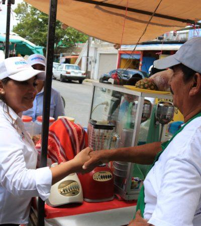 Ofrece Eugenia Solís facilitar el cambio de los empleos y negocios informales al sector formal